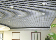 Square / Rectangle ceiling Grille Metal Grid Ceiling / Aluminum grid ceiling tiles