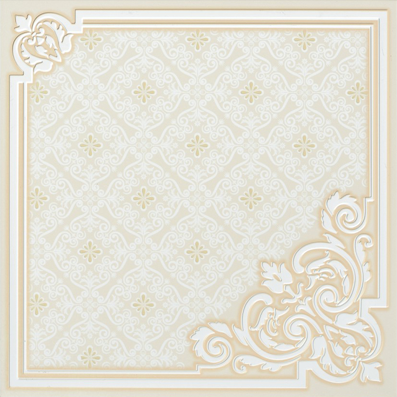 Clip in type Artistic Ceiling Tiles for Luxury Residential Decoration