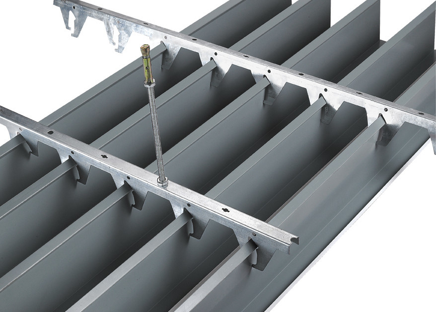 Integration Ceiling Linear Metal Ceiling For Construction Building